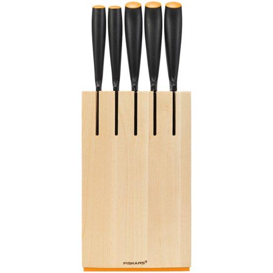 Set 5 nožev z lesenim stojalom