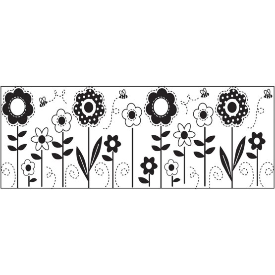 "Dodatni vzorec ""Rože"" za neskončno štampiljko 5568"