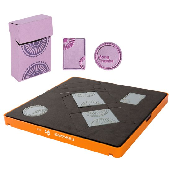 Oblikovalni paket za delo z debelejšimi materiali - Velik - Škatla za sladkarije