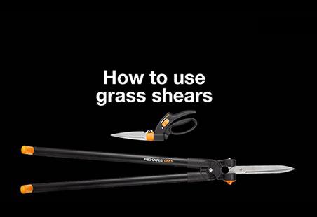Servo-System GS42 škarje za travo